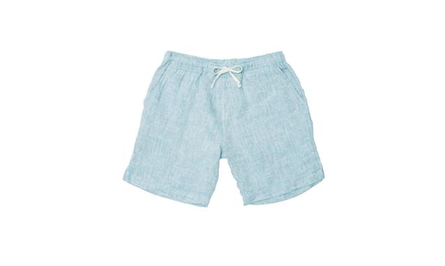 "<p>Bo shorts, $75,<a href=""https://alexcrane.co/collections/frontpage/products/bo-shorts-sky"" rel=""nofollow noopener"" target=""_blank"" data-ylk=""slk:alexcrane.co"" class=""link rapid-noclick-resp""> alexcrane.co</a> </p>"
