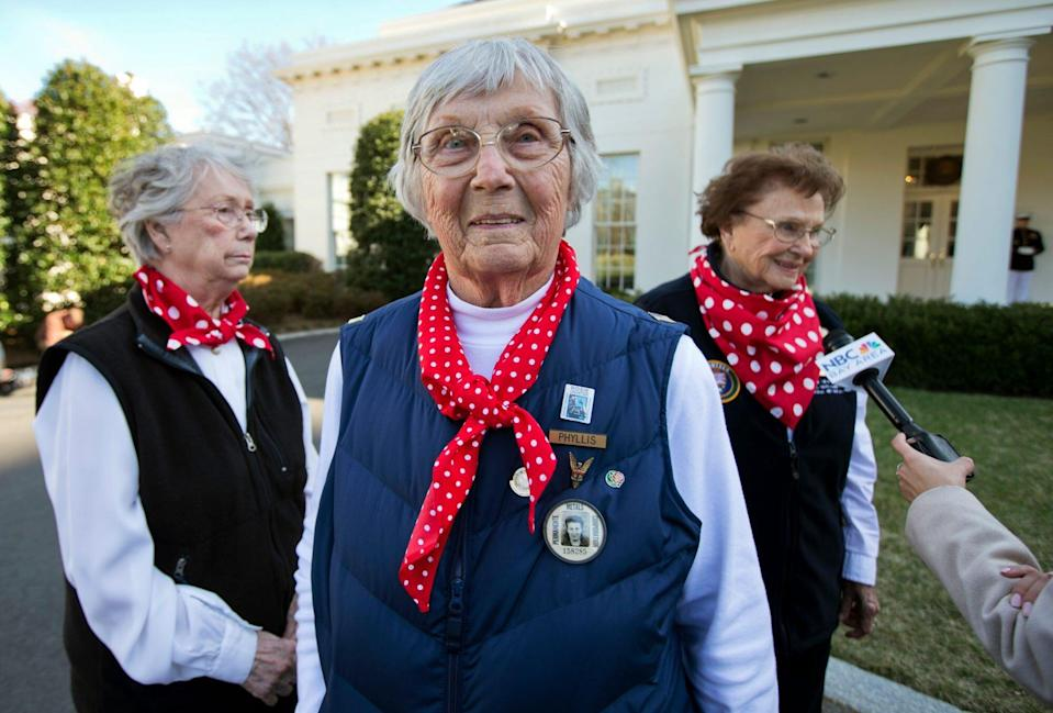 Phyllis Gould-Rosie the Riveters