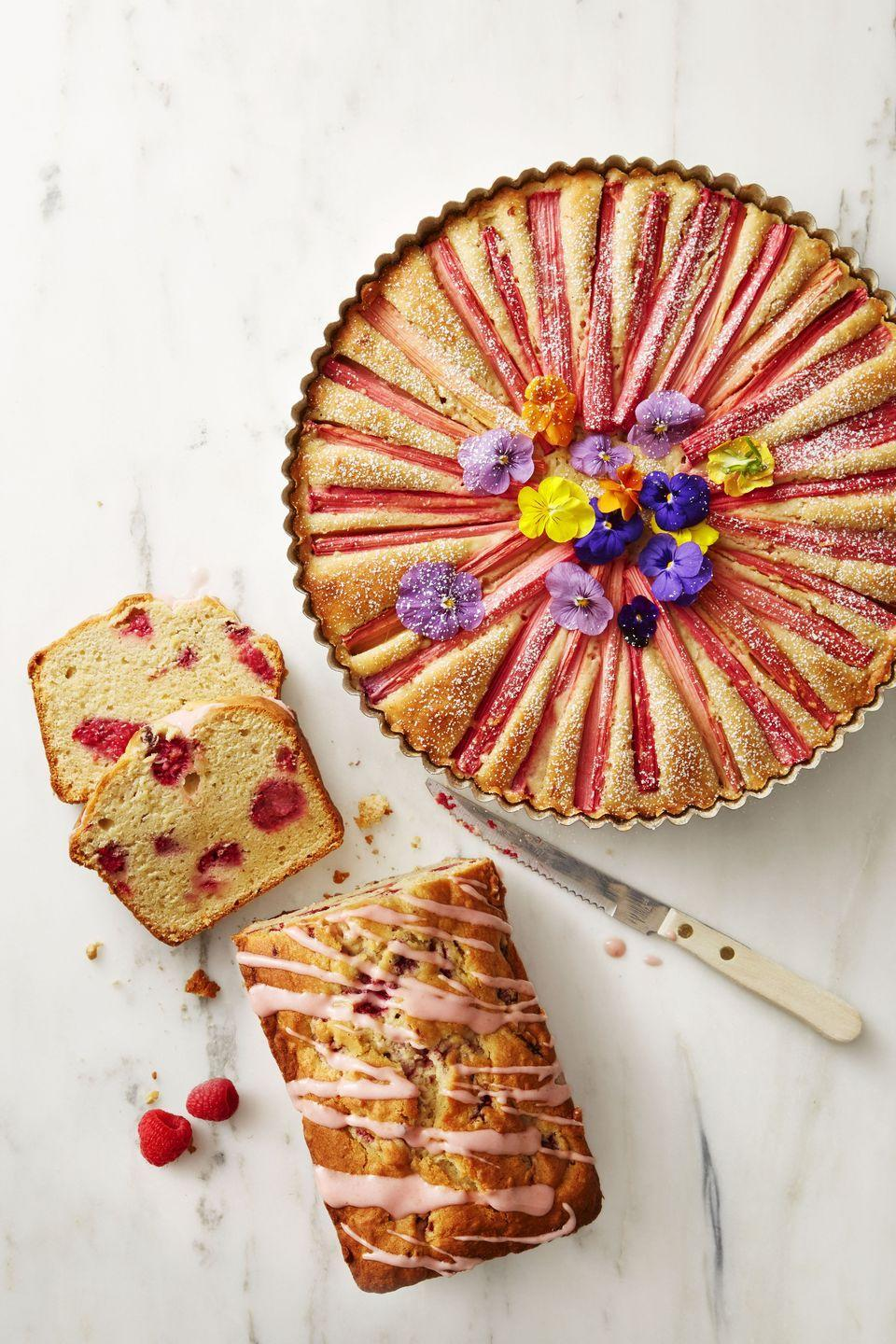 "<p>Dress up this fruity pound cake with a sugary-sweet berry glaze.</p><p><em><a href=""https://www.goodhousekeeping.com/food-recipes/dessert/a38185/raspberry-lemon-pound-cake-recipe/"" rel=""nofollow noopener"" target=""_blank"" data-ylk=""slk:Get the recipe for Raspberry Lemon Pound Cake »"" class=""link rapid-noclick-resp"">Get the recipe for Raspberry Lemon Pound Cake »</a></em></p>"