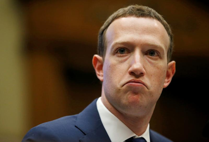 Facebook CEO Mark Zuckerberg testifies before a House panel in April over the company's use and protection of user data.