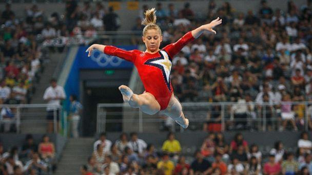 PHOTO: Shawn Johnson of the United States performs on the balance beam during qualification for the women's artistic gymnastics event held at the National Indoor Stadium during Day 2 of the 2008 Summer Olympic Games, Aug. 10, 2008 in Beijing. (Ian Macnicol/Getty Images)