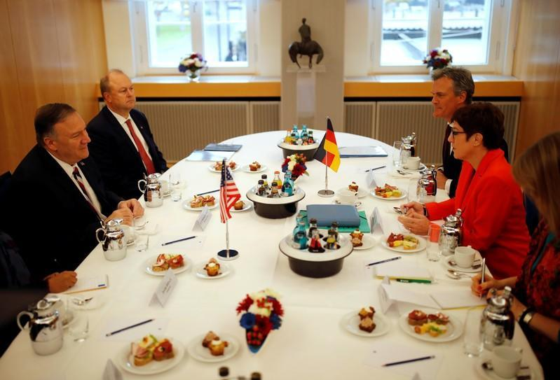 U.S. Secretary of State Pompeo's official visit to Germany
