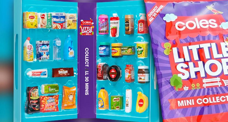 The Coles Little Shop mini collectables promotion has been extended.