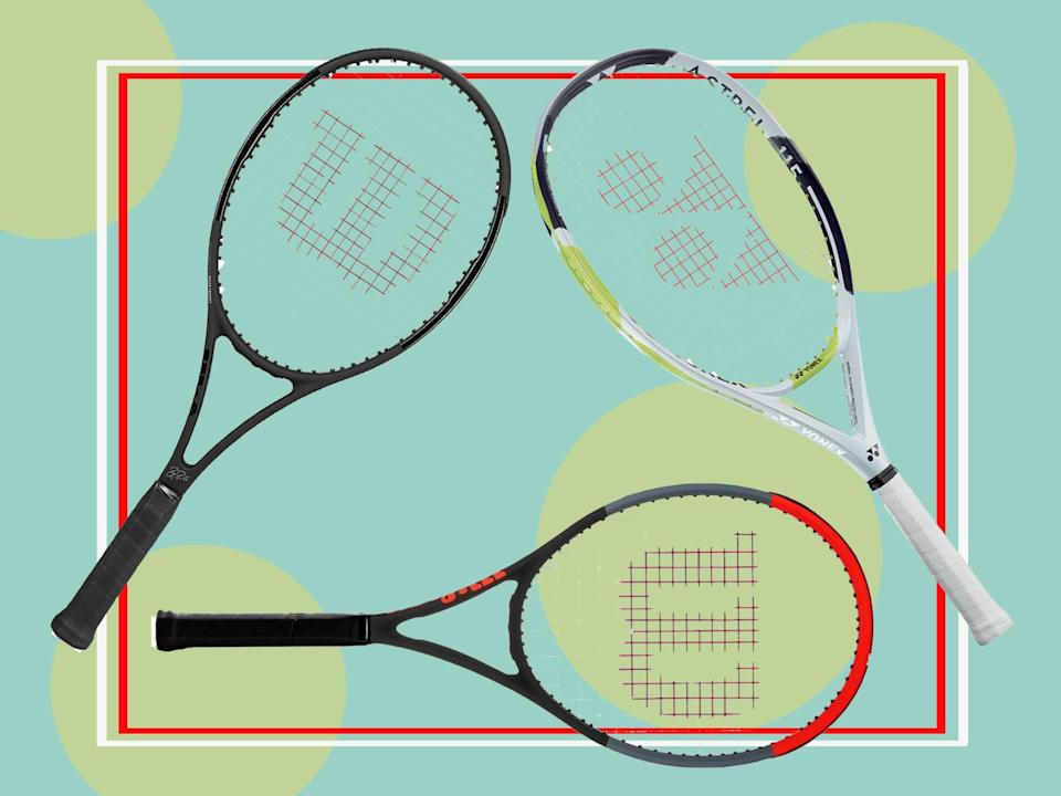 Rackets are designed to add power to your backhands and amplify your playing (The Independent)