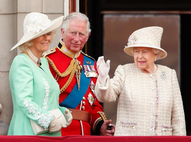 There won't be the usual large Trooping the Colour this year. (Getty Images)