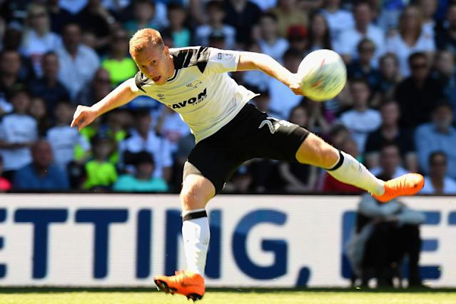 Fulham 'frustration' could hand Derby play-off advantage, says Matej Vydra