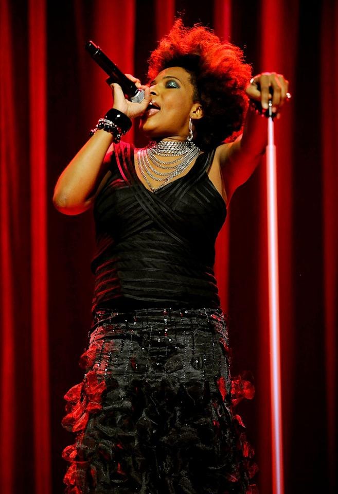 "Musician Macy Gray provided the soundtrack to the L.A. event, which was the third of four planned around the country. The ""I Try"" singer, who rocked glam jewelry over an odd ensemble, is promoting her latest album, <i>The Sellout</i>. Michael Caulfield/<a href=""http://www.wireimage.com"" target=""new"">WireImage.com</a> - September 16, 2010"