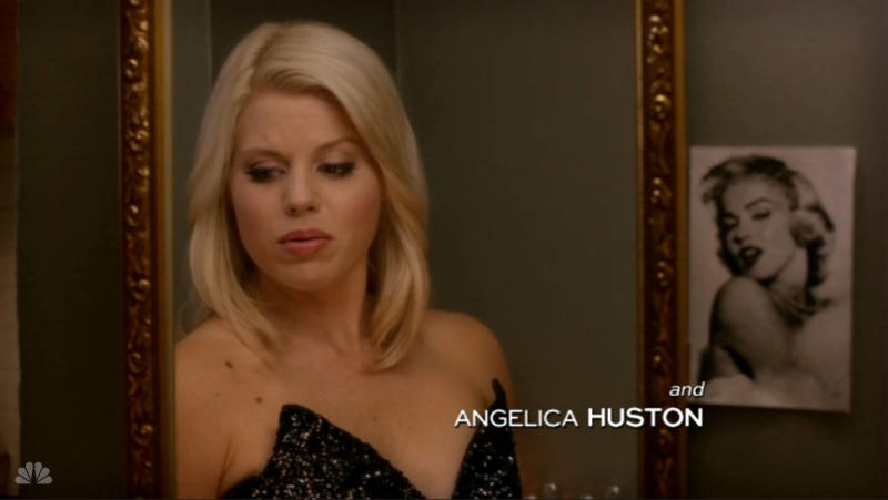 """Anjelica Huston's name is misspelled in the series finale of NBC's """"Smash."""""""
