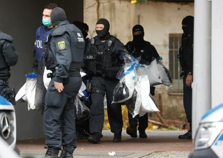 Around 1,600 officers were deployed in the raids and arrests