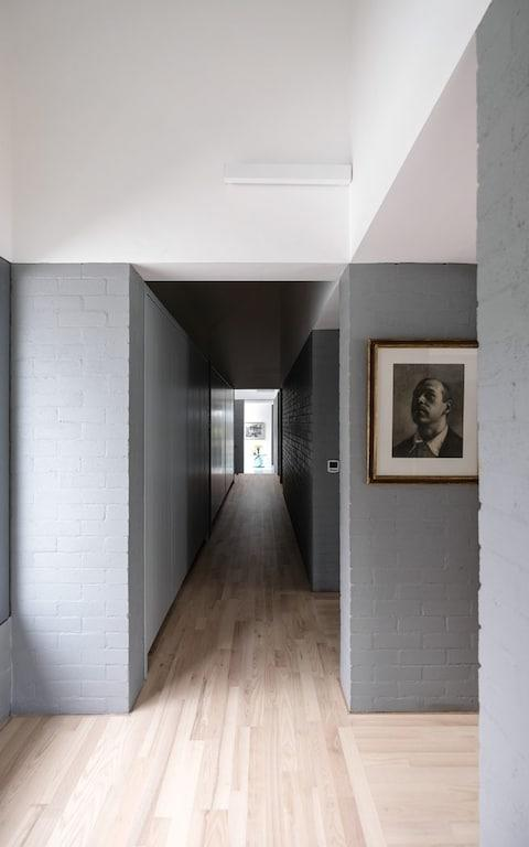 """Boasting zinc roofs on white, rendered, concrete walls, the L-shaped property was described as """"a dream home"""" by judges for the RIBA House of the Year 2019.  - Credit: Aidan McGrath/PA"""