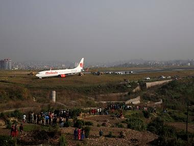 Aircraft goes off runway at Kathmandu airport, flight operations suspended for over 12 hours
