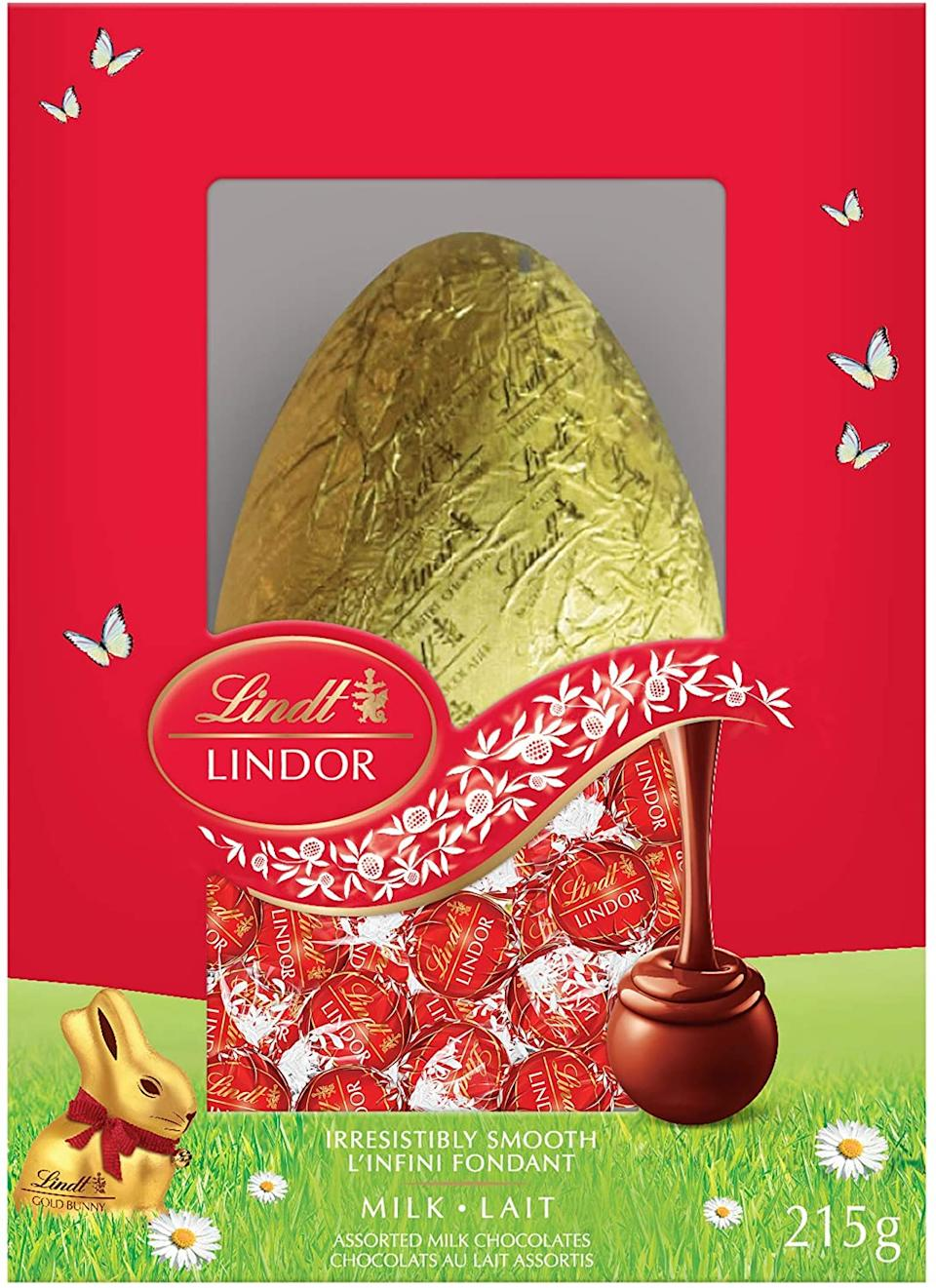 Lindt Lindor Egg Gift Box. Image via Amazon.