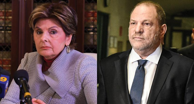 Gloria Allred accused of advising Harvey Weinstein accuser to stay silent