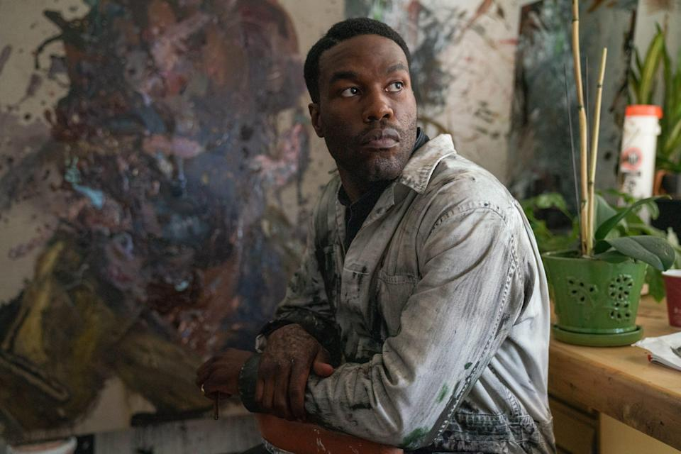 "Yahya Abdul-Mateen II plays a Chicago artist who uses a terrifying supernatural story as inspiration in the horror film ""Candyman."""