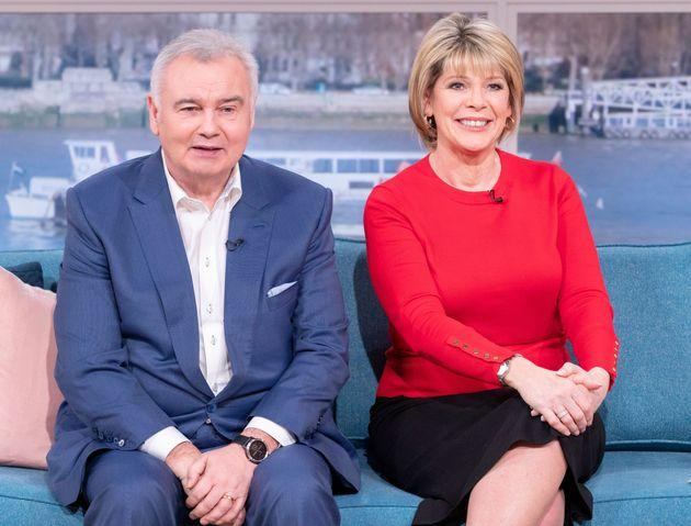 Eamonn with his wife and co-host Ruth Langsford