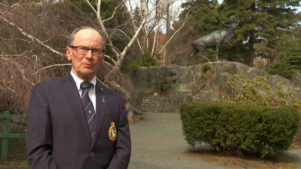 Ron Penney, past chair of the Royal Newfoundland Regiment Advisory Council, has been part of the Trail of the Caribou project for 10 years.