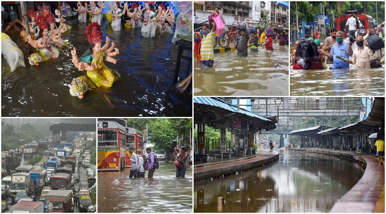 'Mumbai received one of the highest rainfall in the last 24 hours,' India Meteorological Department's (IMD) Mumbai centre Deputy Director General K S Hosalikar said.