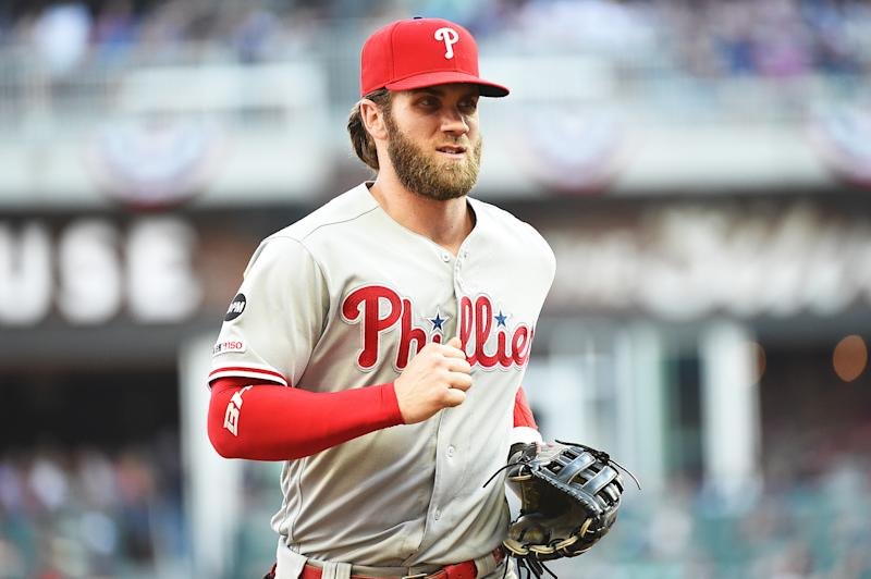 Bryce Harper. (Photo by Logan Riely/Getty Images)