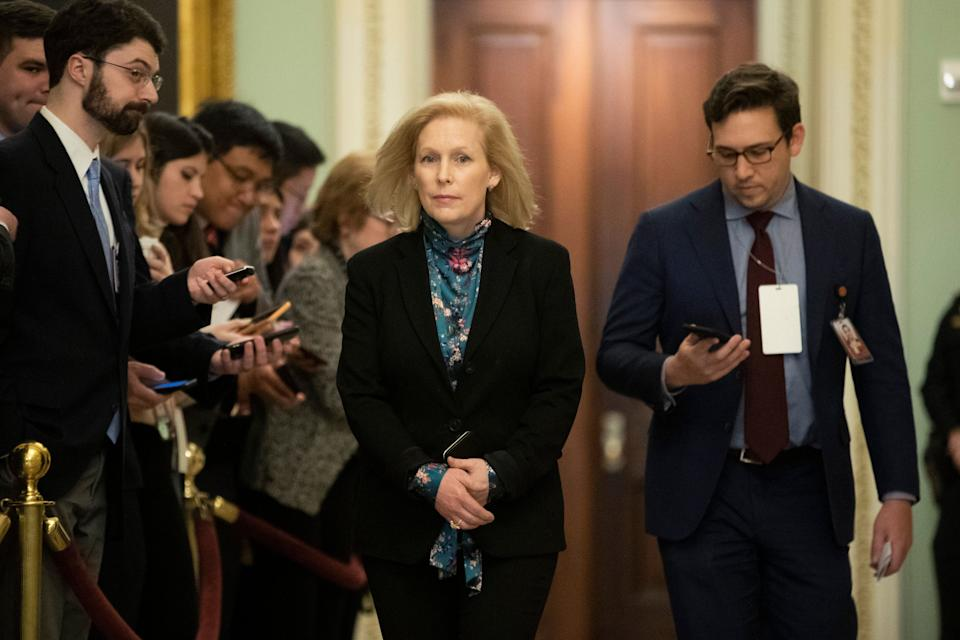 Sen. Kirsten Gillibrand wants to amend a law she authored eight years ago to include disclosure requirements on federal subsidies, loans, grants and contracts. (Photo: Steve Helber/ASSOCIATED PRESS)