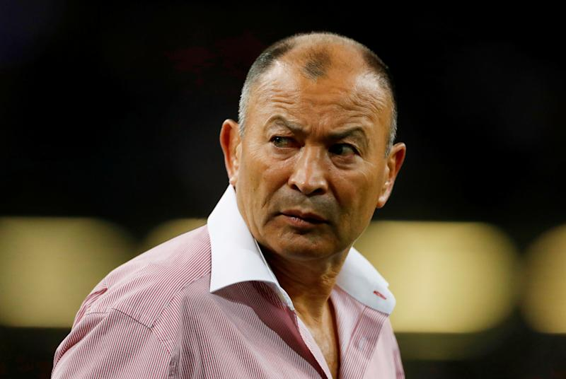 Rugby Union - Rugby World Cup warm-up match - Wales v England - Principality Stadium, Cardiff, Britain - August 17, 2019 England head coach Eddie Jones before the match Action Images via Reuters/Matthew Childs