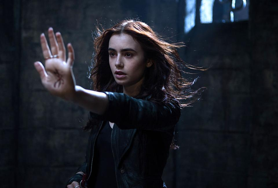 """Lily Collins in Screen Gems' """"The Mortal Instruments: City of Bones"""" - 2013"""