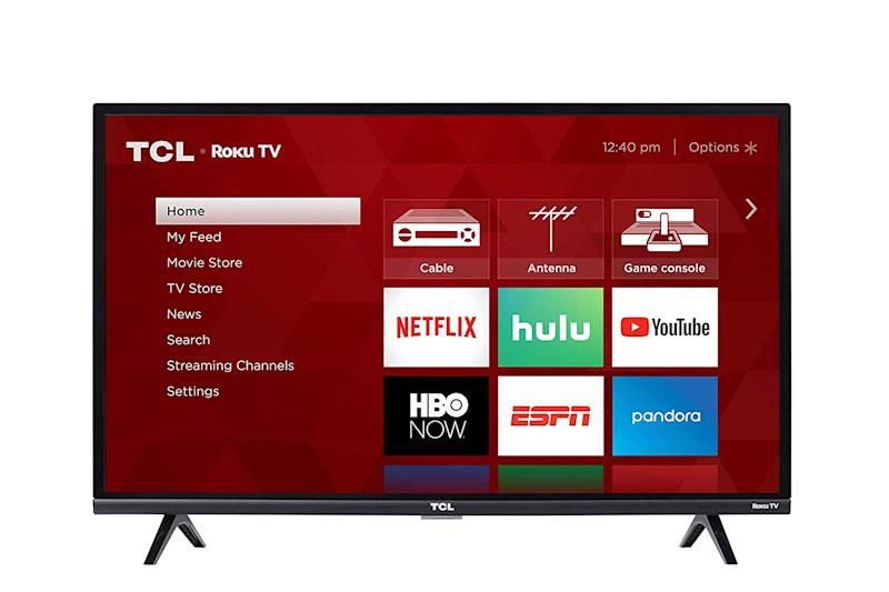 This TCL TV features full HD and streaming apps built-in. (Photo: Amazon)