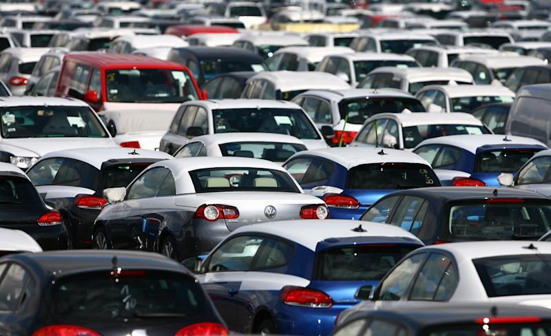 """File photo dated 05/03/09 of new cars lined up on the docks in Sheerness, Kent. Consumer rights champion Which? has called for seven popular car models from brands including Nissan, BMW and Land Rover to be recalled over claims of """"prolific"""" vehicle faults."""
