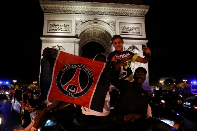 French police arrest 36 after jubilant PSG fans celebrate
