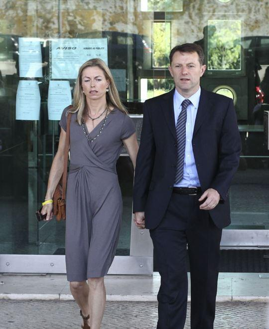 Kate and Gerry McCann's daughter has been missing for nearly 10 years (REX/Shutterstock)