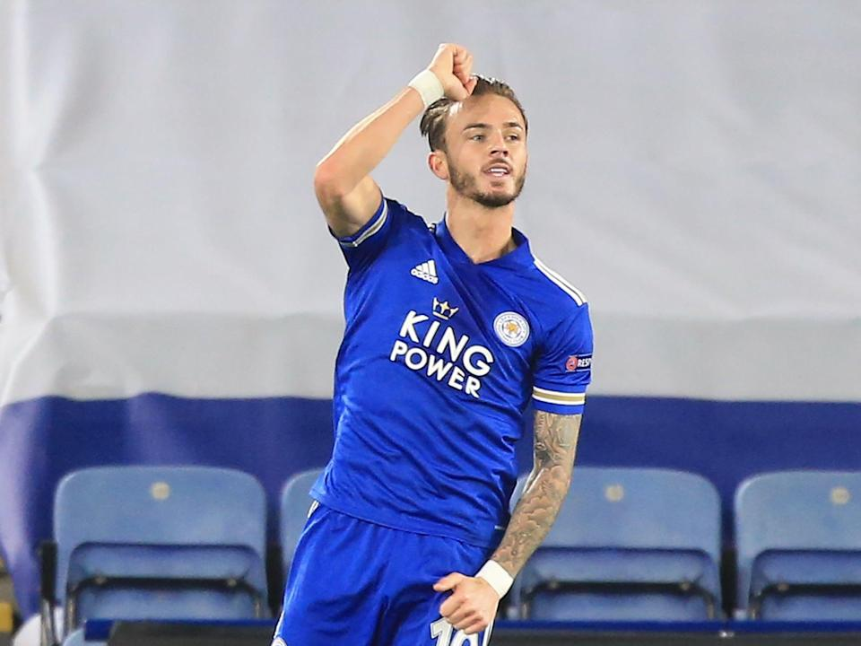 James Maddison impressed for Leicester (AFP via Getty Images)
