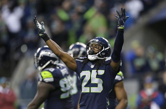 The Seahawks admit they've had discussions with other teams about trading Richard Sherman. (AP)