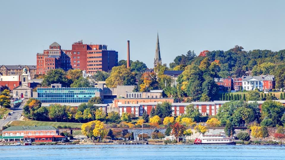 Newburgh is a city located in Orange County, New York, United States, 60 miles north of New York City.