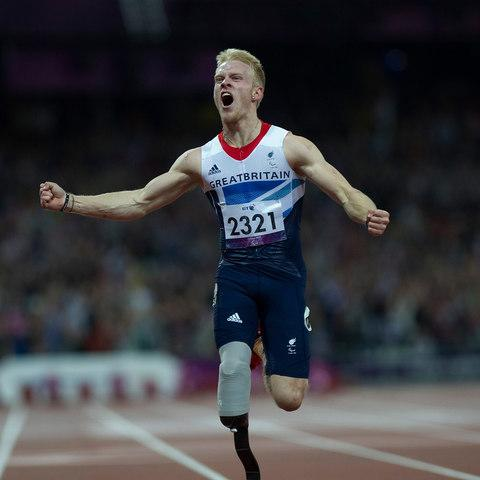 Paralympic champion's hopes for Strictly success