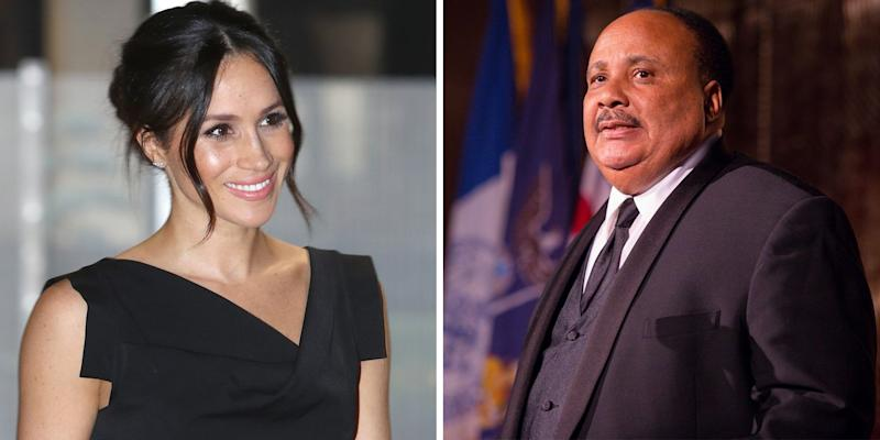 Martin Luther King Iii Was Greatly Disappointed With The U K S Treatment Of Meghan Markle