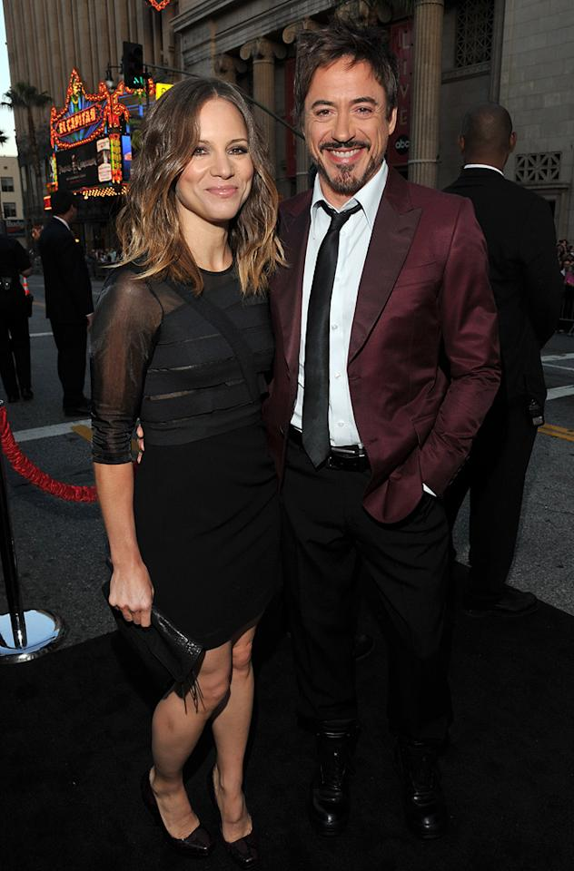 """<a href=""""http://movies.yahoo.com/movie/contributor/1808430145"""">Susan Downey</a> and <a href=""""http://movies.yahoo.com/movie/contributor/1800010914"""">Robert Downey Jr.</a> attend the Los Angeles premiere of <a href=""""http://movies.yahoo.com/movie/1810187722/info"""">The Hangover Part II</a> on May 19, 2011."""