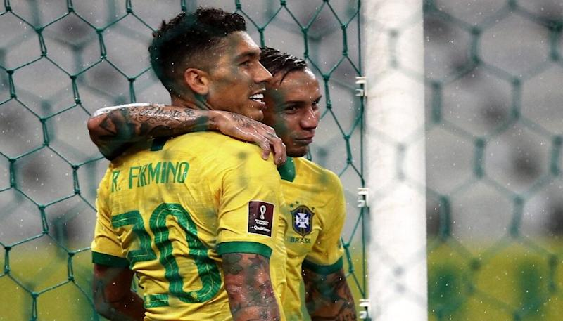 Roberto Firmino's Brace Helps Brazil Beat Bolivia 5-0 During the 2022 World Cup Qualifiers
