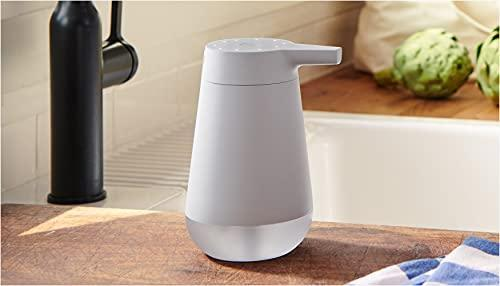 Amazon Smart Soap Dispenser, automatic 12-oz dispenser with 20-second timer, works with Alexa