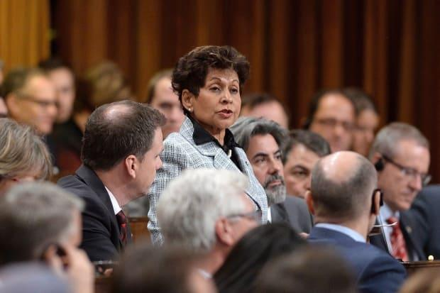 A former staffer in MP Yasmin Ratansi's office is suing her for $2 million, claiming she verbally abused him on multiple occasions. (Sean Kilpatrick/Canadian Press - image credit)