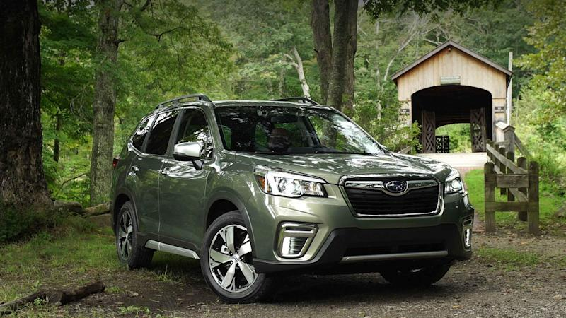 2019 subaru forester improves upon a good thing. Black Bedroom Furniture Sets. Home Design Ideas