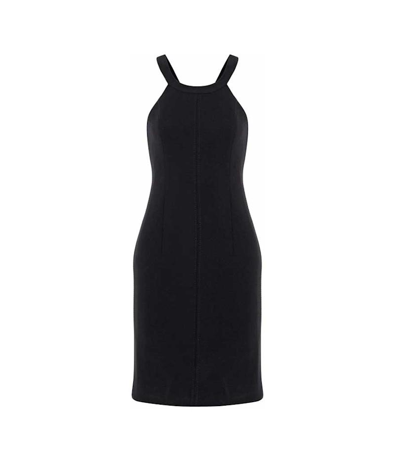 Elizabeth & James halter neck little black dress. (