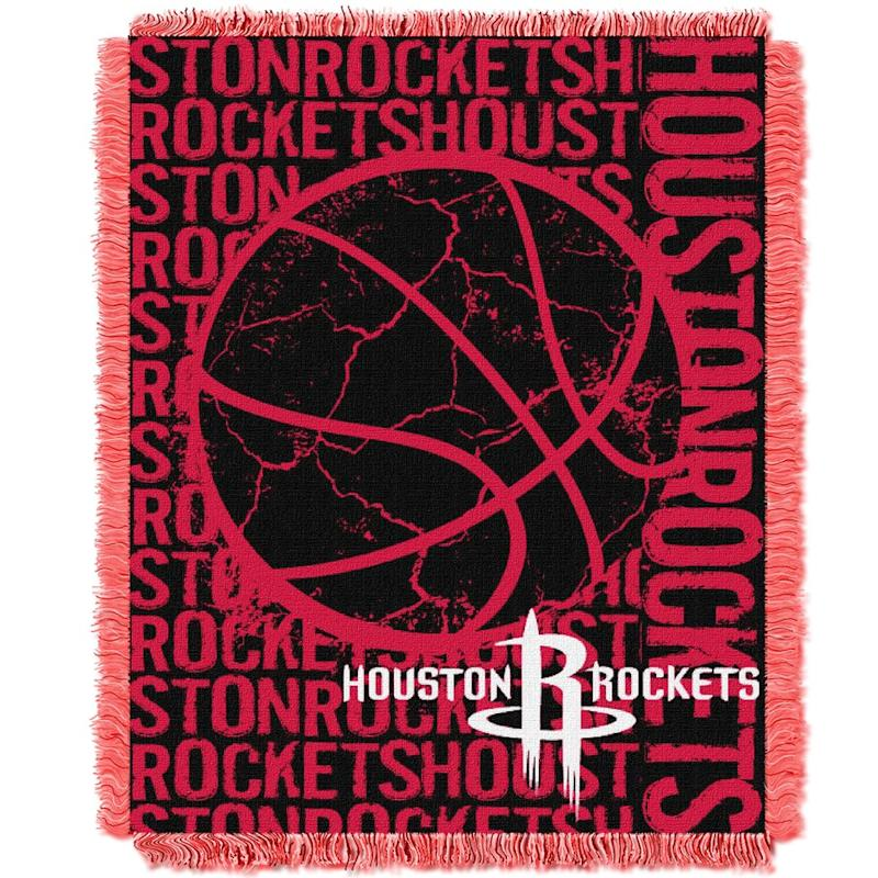 Rockets Double Play Jacquard Throw