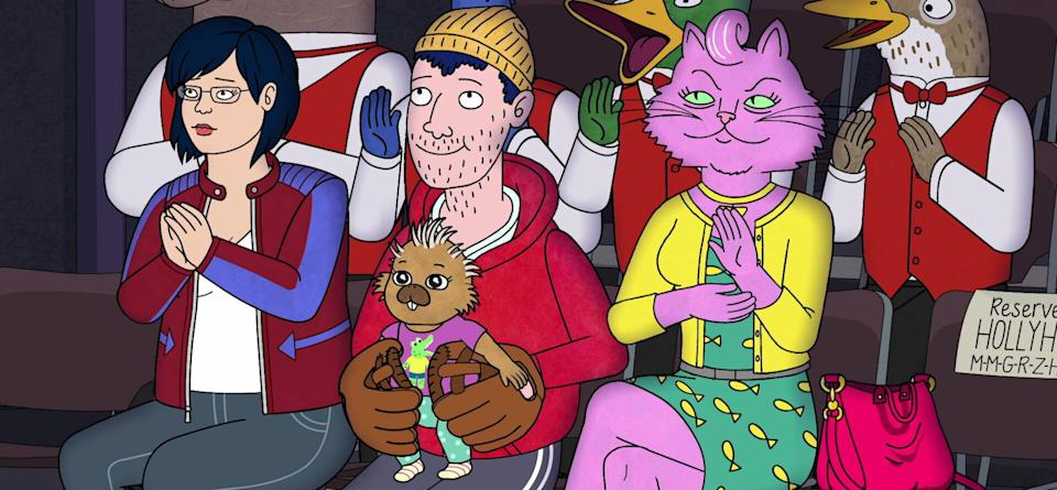 """Another scene from the final episodes of """"BoJack Horseman"""" (Photo: Netflix)"""