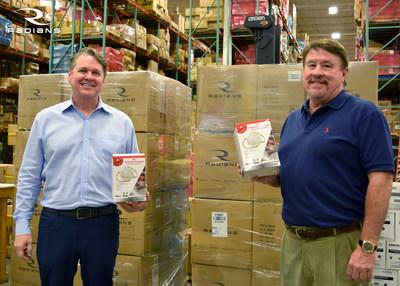 To help with the COVID-19 N95 mask shortage, Radians donates over 14,000 N95 masks. Radians President, Bill England, and CEO, Mike Tutor, are thankful to our first responders and health care workers and are glad that Radians can lend a hand.