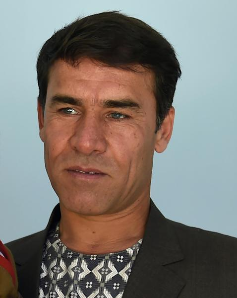 Agence France-Presse (AFP) photographer Shah Marai, pictured in 2016, was among those killed in twin suicide bombings in Kabul (AFP Photo/WAKIL KOHSAR)