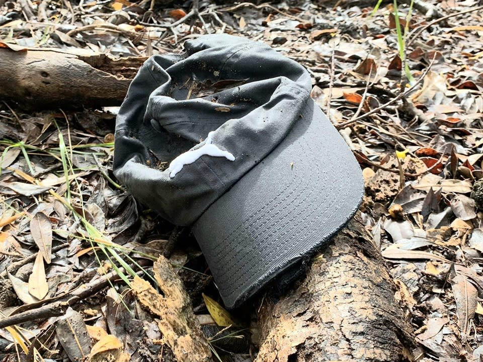 The family believe a hat which was found by volunteers belonged to Théo Hayez, despite forensic evidence not being made public. Source: Looking for Théo Hayez - Facebook.