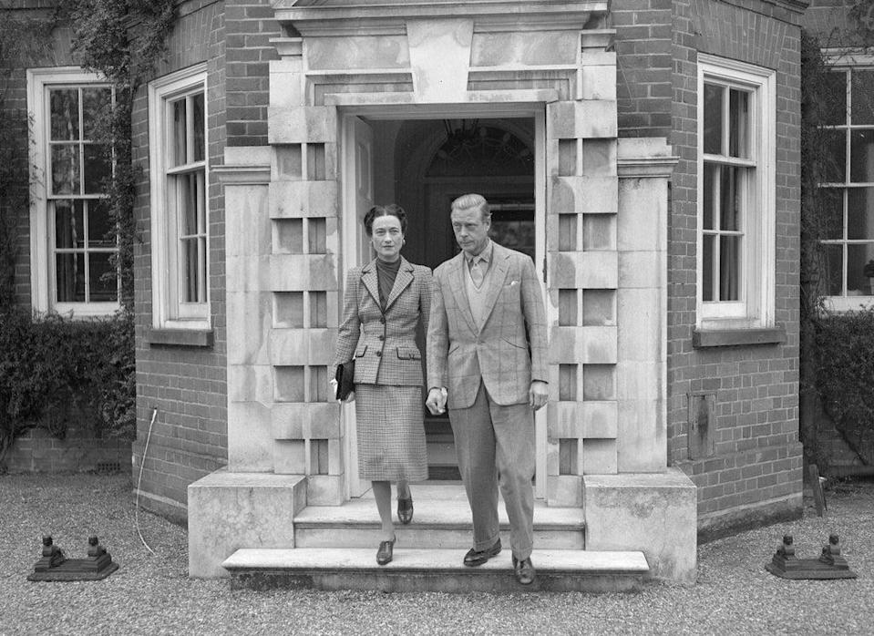 The Duke and Duchess of Windsor, Edward and Wallis, in 1946 (PA) (PA Archive)