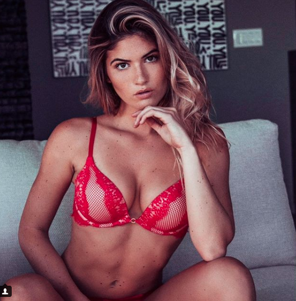 Sexton was recently named Playmate of the Month by Playboy magazine. Image via Instagram.