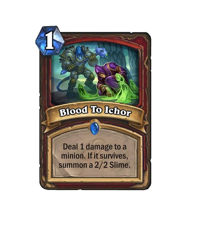 <p>One mana for a 2/2 certainly isn't a bad option, especially if you're pinging away a low health fatty on the other side of the board. Or, just cast it on one of your dudes for an efficient little drop.</p>