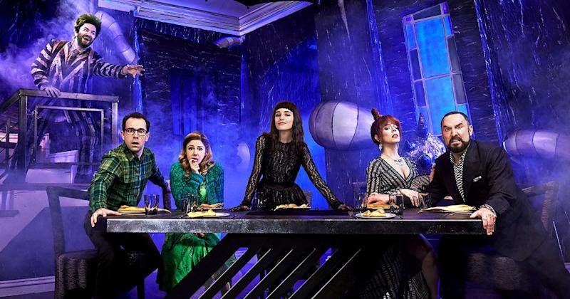 Beetlejuice Is Back And On Broadway In First Footage From Musical Adaptation Of Tim Burton Film