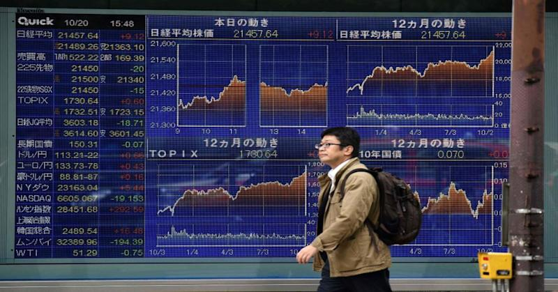 Asia markets close mixed after Japanese shares give up morning gains